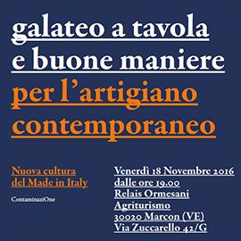 CNA Veneto galateo